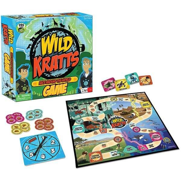 Wild Kratts Race Around the World - Tabletop Haven