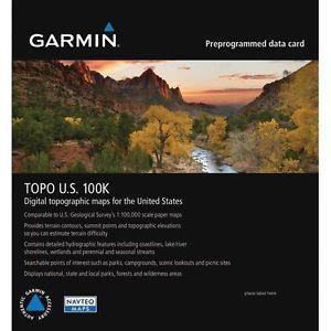 Gps Software And Maps Garmin Topo U S 100k V 5 00 Maps