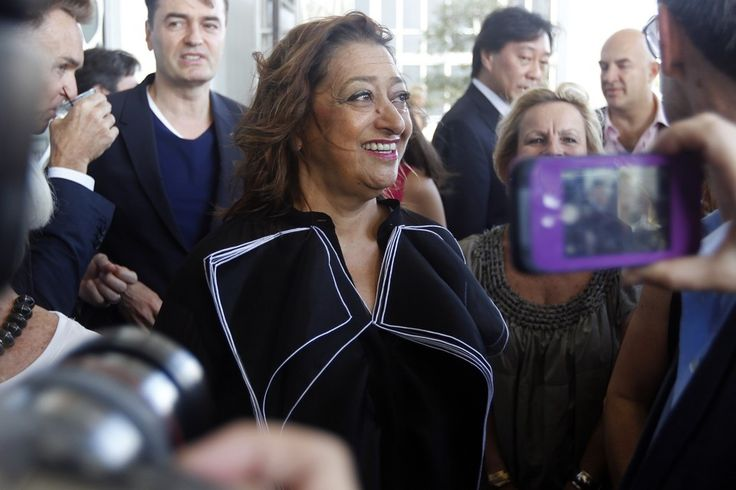 Zaha Hadid - The 65-year-old Pritzker Prize-winner helped define architecture in the 21st century.