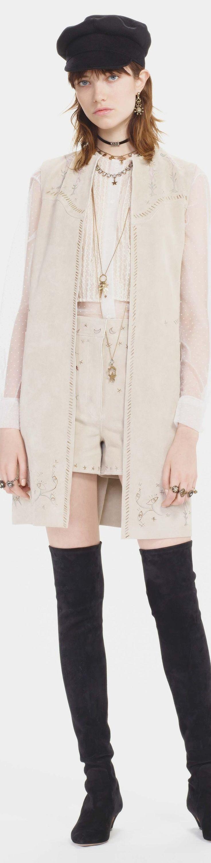 Christian Dior pre fall 2017 vogue