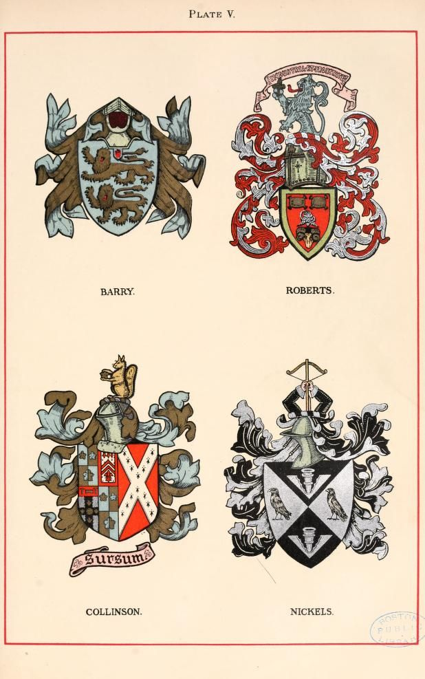 Armorial families : a directory of gentlemen of coat-armour