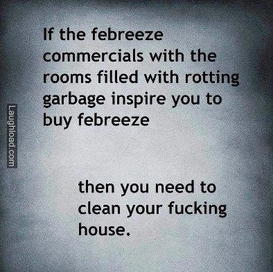 Febreze commercials