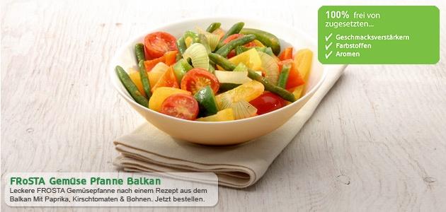 Gemüse Pfanne Balkan von FRoSTA