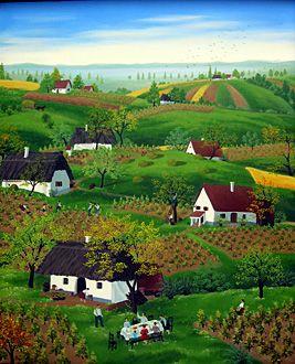 Hungary ~ Magdalena Ban ~ The Vineyards of Zala