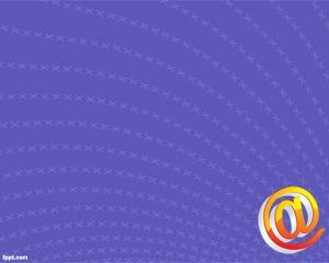 Email Plantilla PowerPoint es un fondo de PowerPoint para presentaciones que tengan que ver con correo electrónico pero también puede servir para quienes quieren crear presentaciones de PowerPoint para enviar por mail, por ejemplo en cuentas gratuitas como Hotmail o Gmail