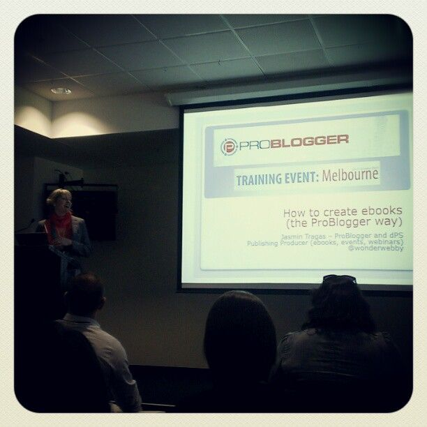 @wonderwebby at Problogger #pbevent