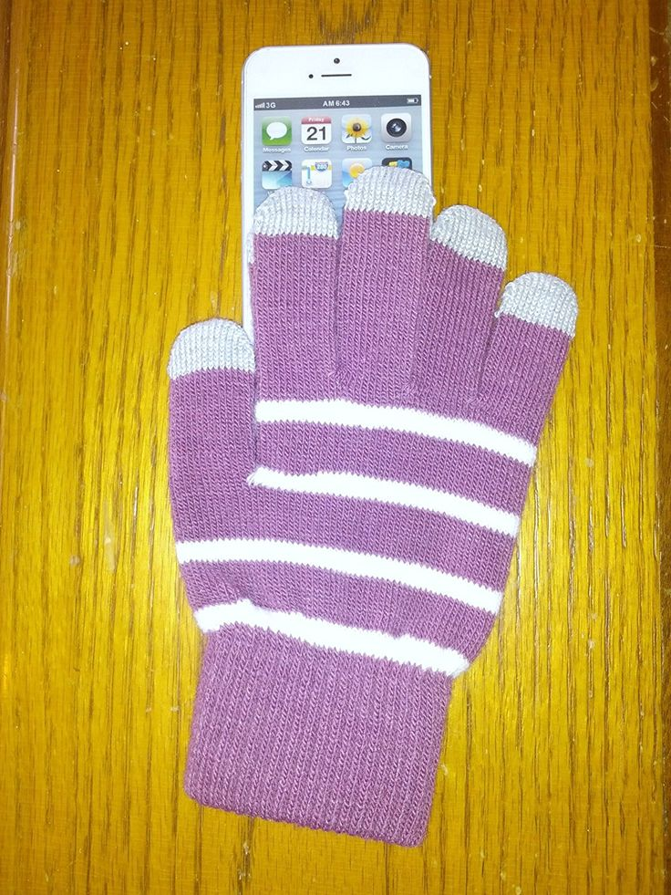 Touch Texting Gloves for iPhone iPad Samsung Galaxy HTC LG Motorola Android Smartphone- Purple Plum * Details can be found by clicking on the image.