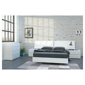District 5 Piece Full Size Bedroom Set   Nexera
