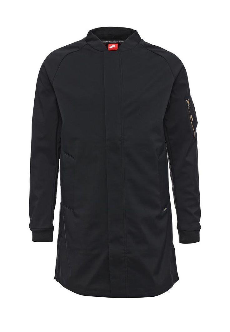 Куртка Nike выполнена из плотного текстиля, флисовая подкладка. Детали: застежка на молнию, ветрозащ