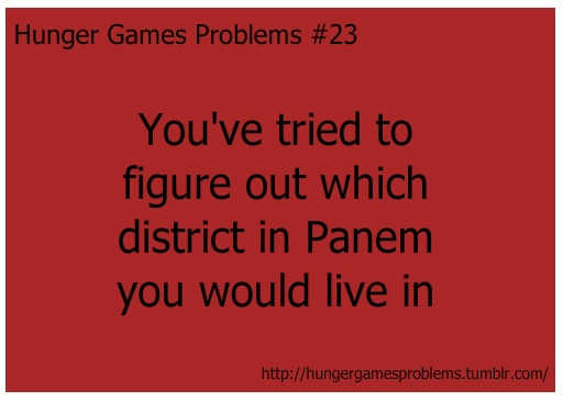 Hunger Games Problems #23