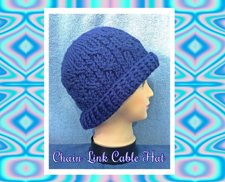 Donna's Chain-Link Cable Hat