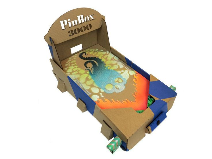 Design Your Own Cardboard Pinball Machine