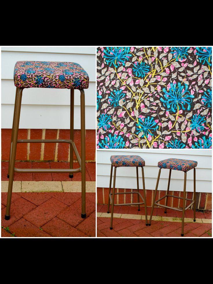 Upcycled stools