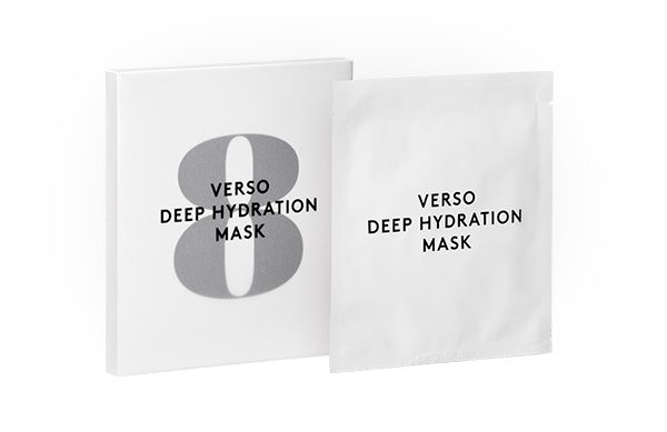 Keep skin moisturised for up to 120 hours with the new VERSO Deep Hydration Mask!