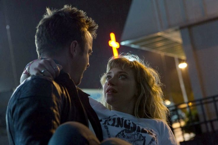 Aaron Paul & Imogen Poots in NEED FOR SPEED