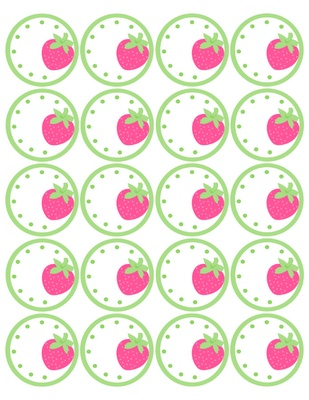 Tricia-Rennea, illustrator: Strawberry Circles Forever: free download