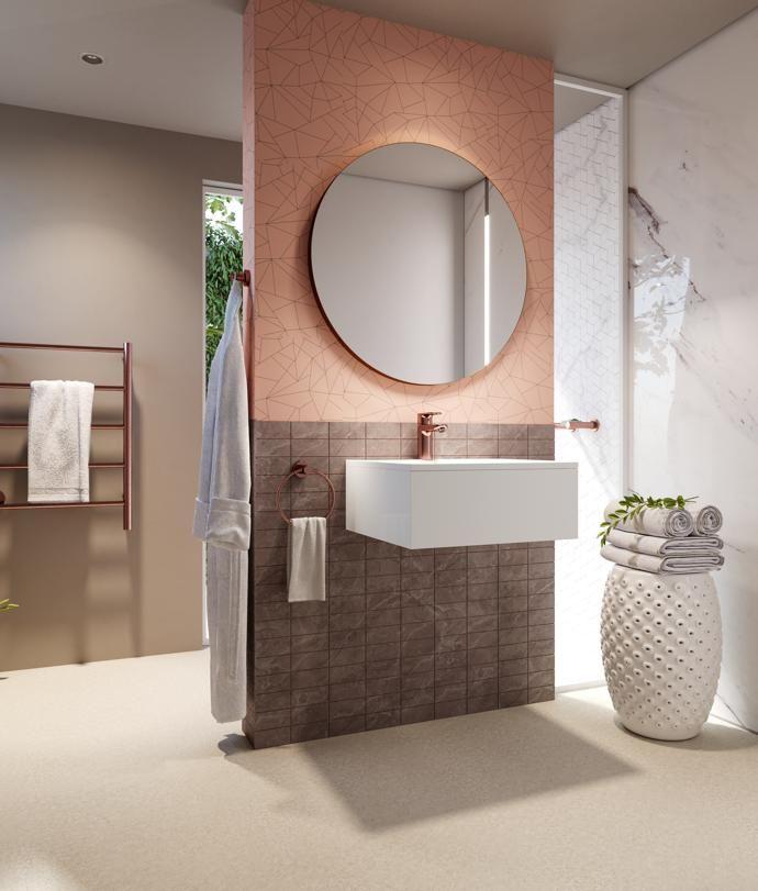 Gold Bathroom Decor Rose Interior, Rose Gold Bathroom Mirror Cabinet