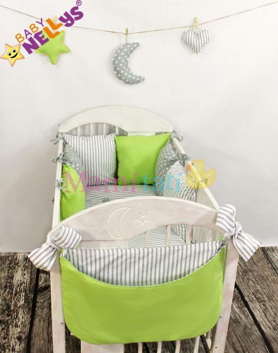 Mantinel BE LOVE LUX polštářkový s povlečením vzor č. 6 - Mamitati - zavinovačky,povlečení,postýlky,plenky,dupačky,autosedačky,kočárky,kojenecké oblečení