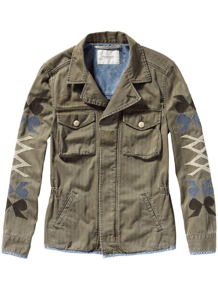 Veste-chemise militaire