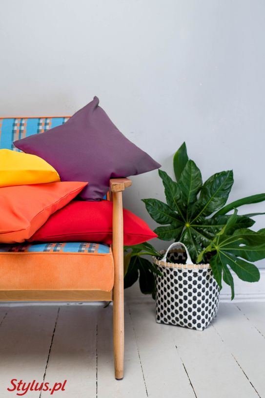 © stylus.pl   #homedecor #homeinspiration #interiors #fabric #pillows #stylus.pl #sweetcraft #interior #interiordesign #poduszki