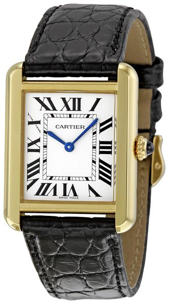 Cartier Tank Solo Small Ladies Watch W5200002  $3,690.00
