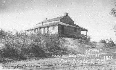 Robert E Lee House Rio Grande City