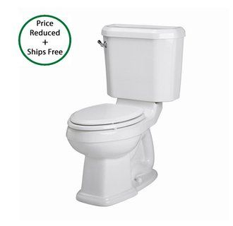 water closet option 1 American standard, Toilet, Portsmouth
