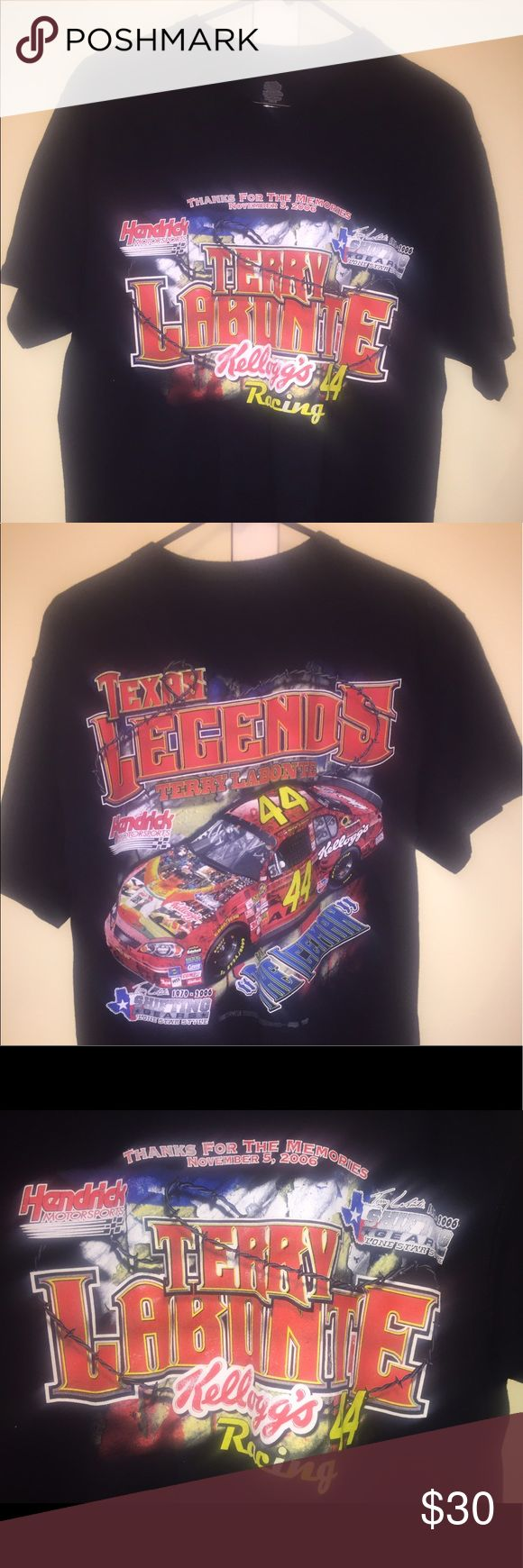 Vintage NASCAR T-Shirt Excellent condition NASCAR T-Shirt. Print in double sided no cracking.  Shirt has no flaws and has been washed. Size Large. Fits TTS (could fit a medium well). Supreme Shirts Tees - Short Sleeve