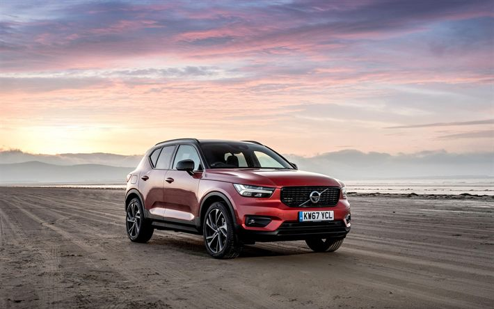 Download wallpapers Volvo XC40, 4k, R-Design, 2018 cars, crossovers, Volvo XC40 D4, Volvo