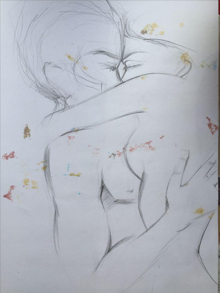 Drawing illustration , sketchbook