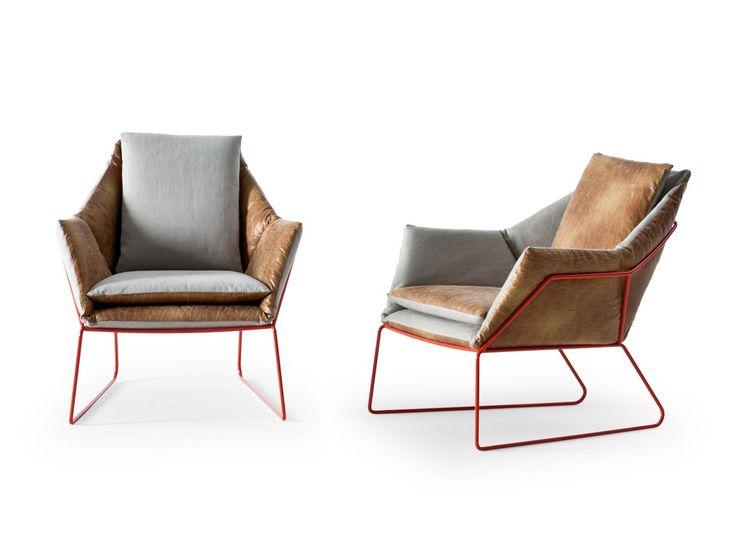 New York armchair by Sergio Bicego for Saba Italia