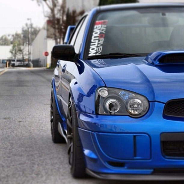 Teamdailydrivenrevolution | @subie001 Reppin Our Team Decals Like A Boss!  STI Is. Subaru ImprezaWrx StiAuto ...