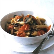 Highland Pasta with Smoked Salmon (for two)
