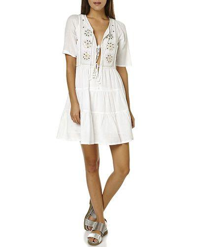 Tigerlilly | jasione womens smock dress - jasmine | $149.95