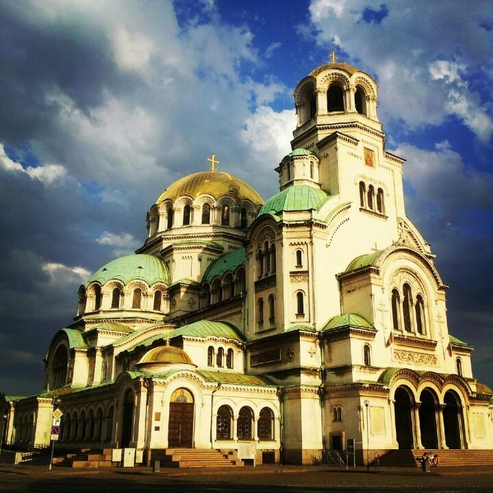 Cathedral Saint Alexander Nevsky. - Св. Александър Невски. Sofia, Bulgaria