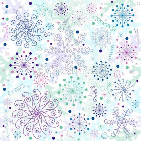 Seamless pastel christmas wallpaper