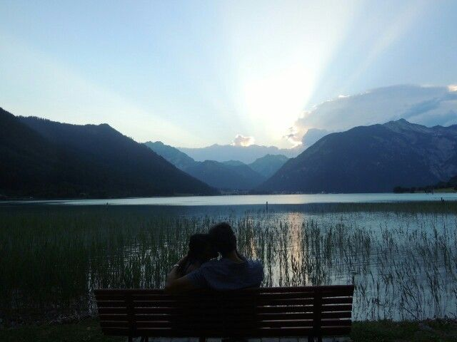 Lago di Achensee Austria