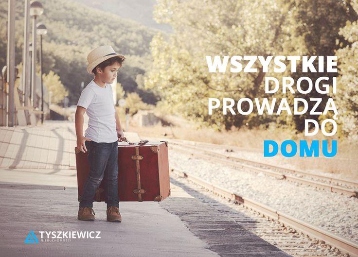"""Mówi się, że: """"Wszystkie drogi prowadzą do Rzymu"""" My mówimy: """"Wszystkie drogi prowadzą do domu""""  #tyszkiewicz #mieszkanie #trojmiasto #morze  Całą """"drogę"""", od wyboru mieszkania, do bezpiecznego zakupu, pomożemy Ci przejść tak, aby była ona czystą przyjemnością!  Postaw na najlepszych! www.tyszkiewicz.pl"""