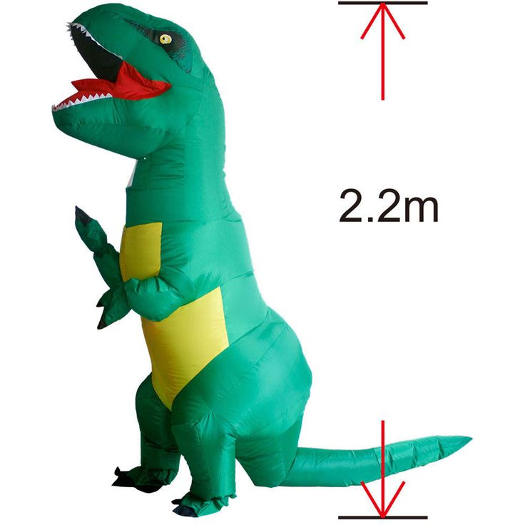 Big Trex Inflatble Dinosaur Halloween Costume for Women Men Dragon Animal Outfit #CompleteOutfit