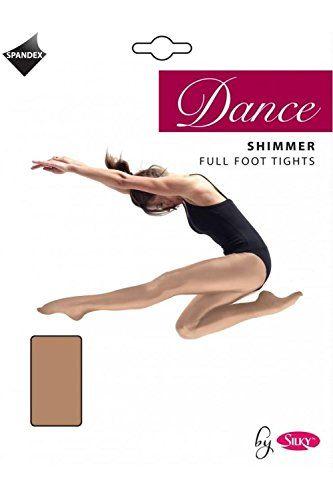83cef74065fc9 Roch Valley Silky Girl's 1 Pair Dance Shimmer Full Foot Tights ...