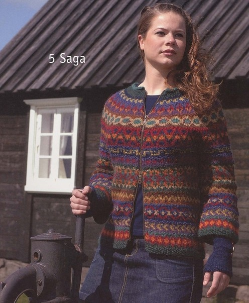 Istex - Iceland--Vedis Jonsdottir--Saga  I love Lopi yarn, and have several colors, but only 2-3 of each, so this is perfect! Love it!