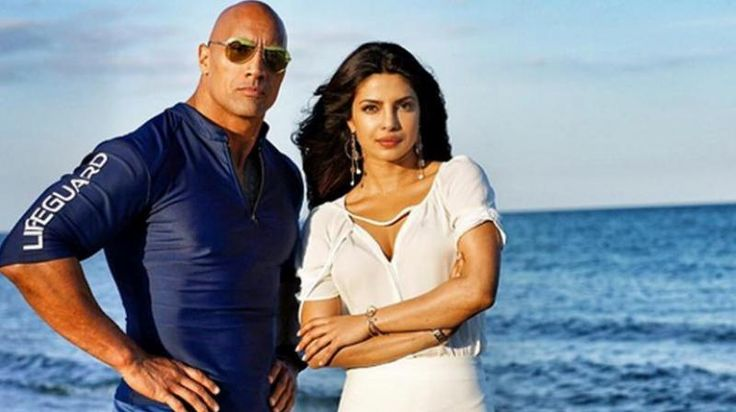 priyanka chopra dwayne johnson in baywatch film | http://www.atozpictures.com/baywatch-movie-pictures