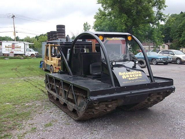 Bombardier Muskeg Snowcat Sno Cat Sno Cat Track Machine