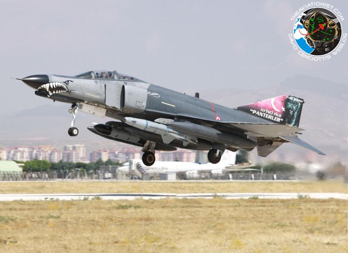 The Aviationist » These are the Turkish Air Force jets pounding PKK and ISIS in Turkey, Syria and Iraq