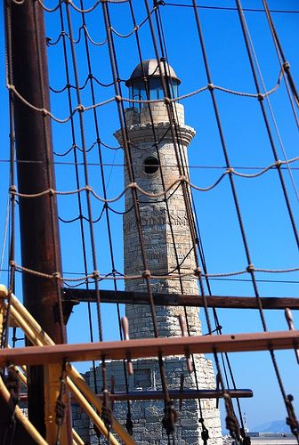 The lighthouse in Rethymnon • Adrian Maeder