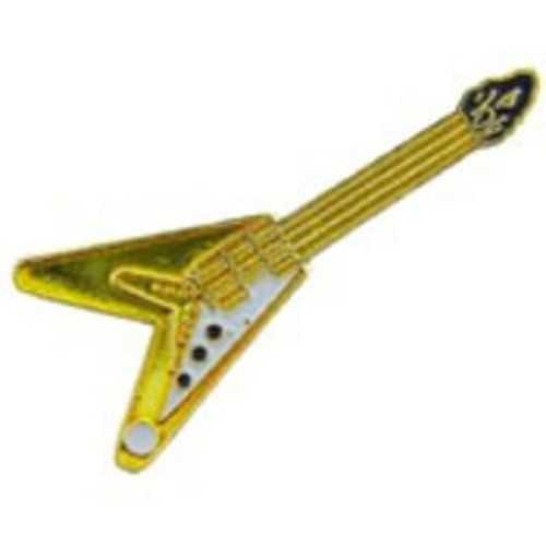 "V Shaped Electric Guitar Pin 1"" by FindingKing. $8.99. This is a new V Shaped Electric Guitar Pin 1"""