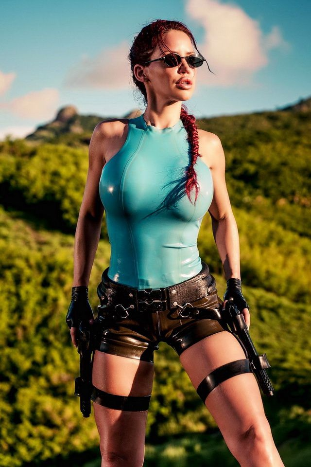 Tomb Raider Lara Croft Cosplay Bianca Beauchamp