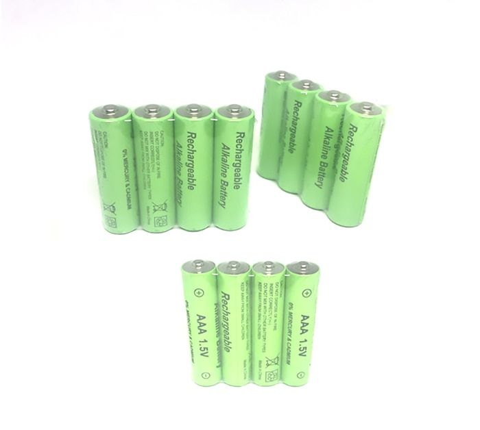 Cncool 4 8 10 16 20pcs Lot New Brand Aaa Rechargeable Battery 1 5v Alkaline 2100 Mah Battery For Russia Free Shipping