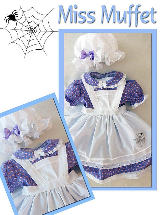 Little Miss Muffet!! So adorable. #literary #costumes #halloween