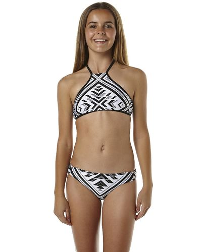 097c423ce6 RIP CURL KIDS GIRLS HEARTS DESIRE HALTER BIKINI - BLACK | Swimsuits ...